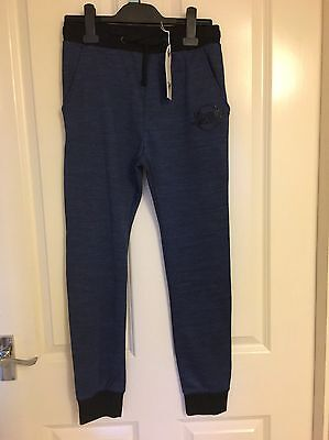 Bnwt Sonneti Boys Blue Tracksuit Bottoms Age 13 - 15 Years