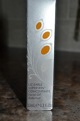 Liz Earle Superskin™ Concentrate For Night Facial Oil 10ml Rollerball New