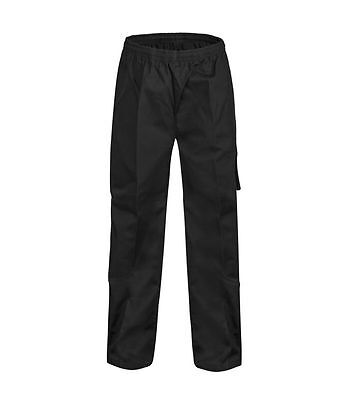 NEW Chef Cargo Pants Unisex  Black Chefcraft