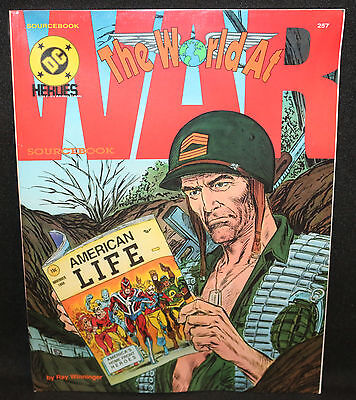 The World at War Sourcebook - DC Heroes Role-Playing Game (Sealed) 1991