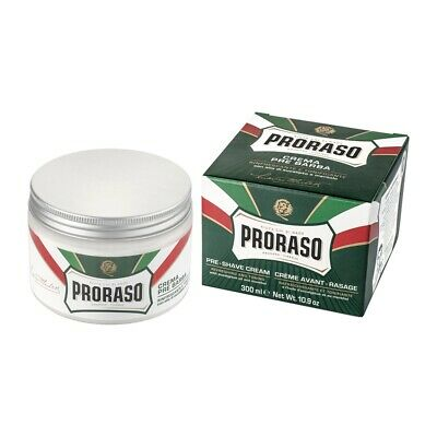 Proraso Green Pre-Shave Cream with Eucalyptus Oil and Menthol 300ml