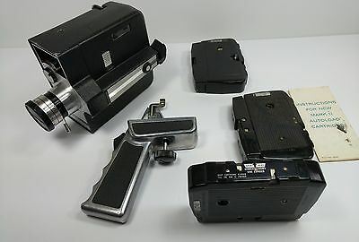 Bell & Howell 8315 Zoom Reflex Animation Autoload 8mm Film Movie Camera