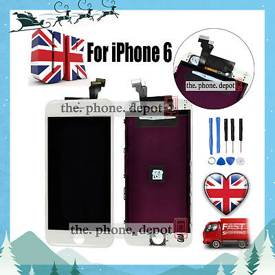"""For iPhone 6 4.7"""" LCD Touch Screen & Digitizer Display Assembly Replacement UK"""