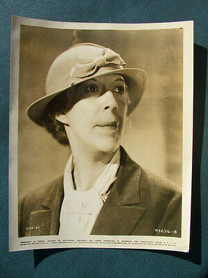 Vintage Original Edna May Oliver Actress  Movie Photograph