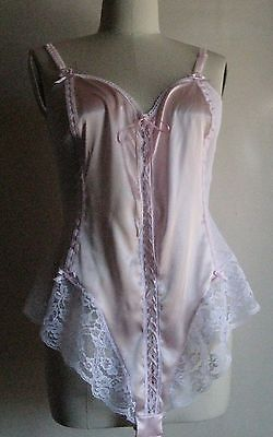 Luxury Plus Size Stretch Delux Satin-Lace s.24 Handmade in Australia