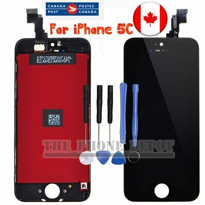 For iPhone 5C Black LCD Touch Screen Digitizer Display Assembly Replacement CA