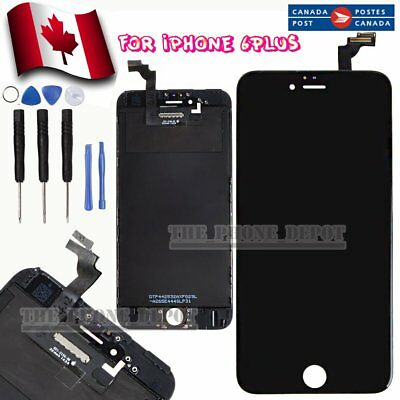 "For iPhone6 Plus 5.5"" LCD Display Touch Screen Digitizer Assembly Replacement CA"