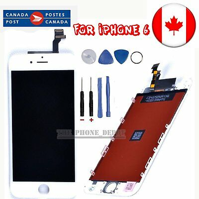 "Replacement For White iPhone 6 LCD 4.7"" Touch &Digitizer Display Assembly CANADA"
