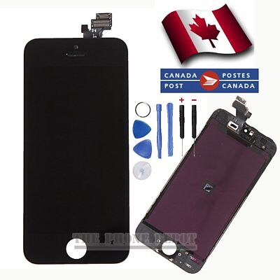 LCD Touch Screen Digitizer Display Assembly Replacement For iPhone 5 Black CA