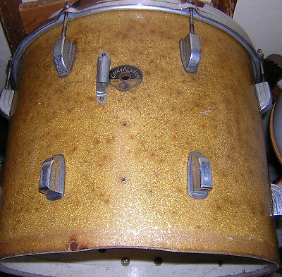 Vintage Leedy & Ludwig marching snare / parade drum - Elkhart, Indiana