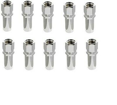 "McGard 69301 Chrome Racing Style 1.365"" Lug Nuts 7/16""-20 Thread -Box of 100"