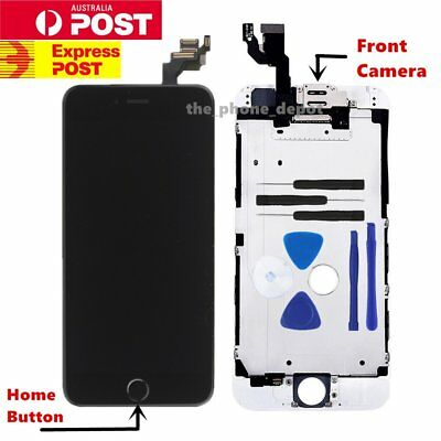 """Replacement For iPhone 6 LCD 4.7"""" Touch Screen Home Button Camera Digitizer AU"""