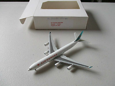 Herpa Wings 507462 Air Canada  A340 - 500    RARE  SAMPLE MODEL