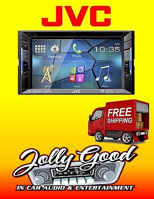 """JVC KW-V220BT 6.2"""" Double Din DVD Player with Bluetooth"""