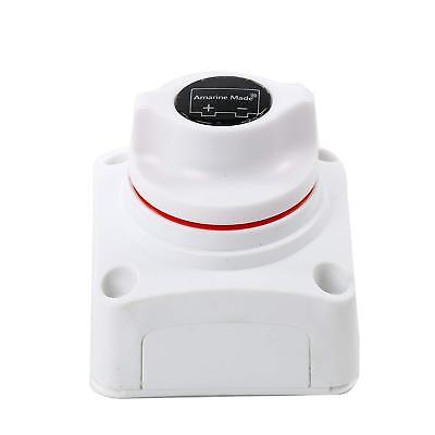 12V DC Boat Battery Power Disconnect Switch, Heavy Duty Battery Isolator Switch
