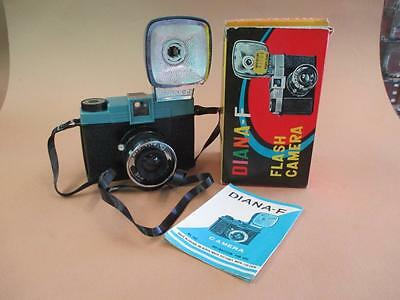 Camera, Diana-F, flash camera, boxed, vintage