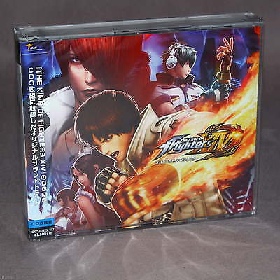 The King of Fighters XIV Original Soundtrack Japan PS4 Game Music 3 CD Set NEW