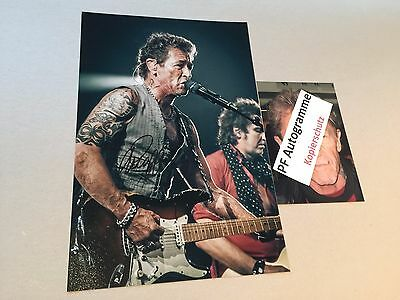 PETER MAFFAY In-person signed Autogramm Foto 20x30