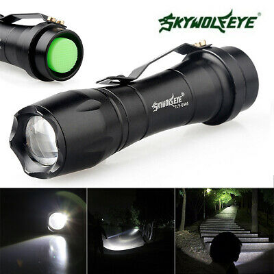 15000LM Q5 AA/14500 ZOOMABLE 3 Modes LED Taschenlampe Fackel Super Hell