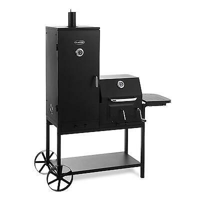 Klarstein Charcoal Grill Commercial Bbq Smoker Frying Slow Cooking Work Area Xxl