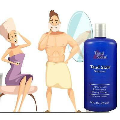 Tend Skin 16oz Solution- Liquid for INGROWN HAIR RAZOR BURNS RAZOR BUMPS REDNESS