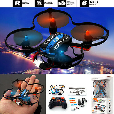 Gift MINI RC Quadcopter UFO 2.4GHz 4CH 6-Axis GYRO Nano Helicopter Drone RTF Toy