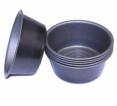 Party Pie Tins, Set of 6, for Mini Pies and Whist Pies