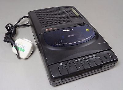 Vintage Good Condition Working Philips AQ6455 Portable Cassette Recorder