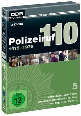 Polizeiruf 110 - 5 Staffel - 1975-1976 - 3 DVD DigiPak