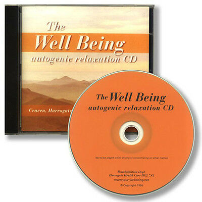 THE WELLBEING AUTOGENIC RELAXATION CD for stress anxiety - effective sleep aid