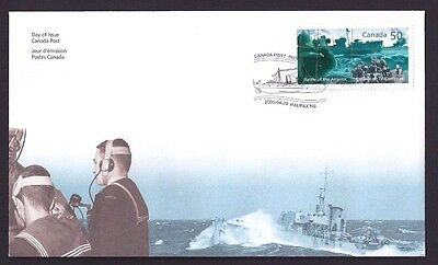 Canada  FDC # 2107     Battle Of The Atlantic  2005  New & Unaddressed