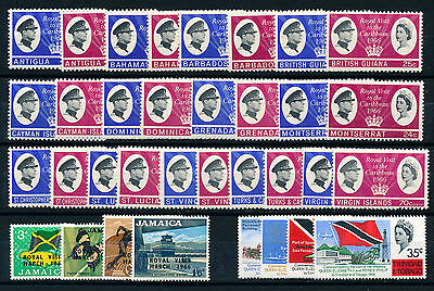 1966 Royal Caribbean Visit Complete Omnibus Set (15 Countries)  Mnh