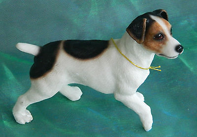 Jack Russell Terrier Standing Collectable Dog Ornament Figurine & Boxed