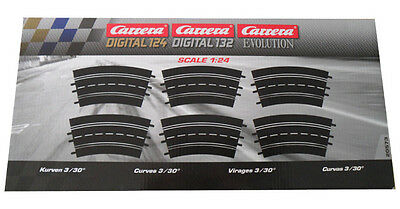 Carrera 20573 - Digital 132 / Exclusiv /Evolution Kurve 3/30  NEU & OVP