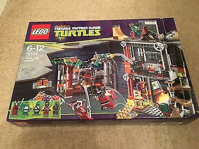 Lego Turtles. 79103. Turtle Lair Attack. New Sealed. Private Collection