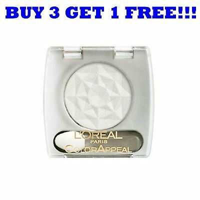 L'Oreal Eye Shadow Mono Colour Appeal 010 Pure White 010