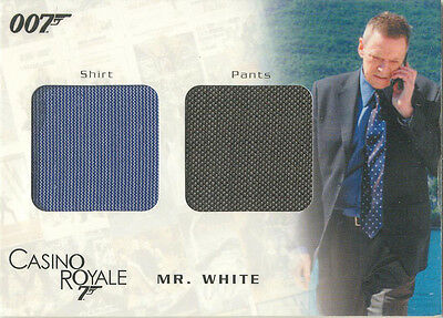 "James Bond In Motion - DC05 ""Mr. White's Shirt & Pants"" Costume Card #0980/1250"