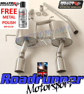 Milltek Clio 182 Cat Back Exhaust System Stainless Non Resonated Louder SSXRN414