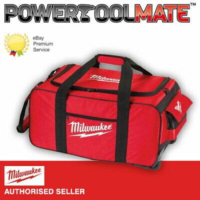 Milwaukee 4931427040 M18 M28 Large Contractor Duffel Tool Bag with Wheels