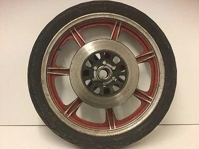 yamaha rd250 rd400 rd front wheel with disc