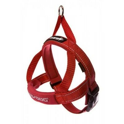 EZYDOG - Red Medium Quick Fit Dog Harness - Free Delivery