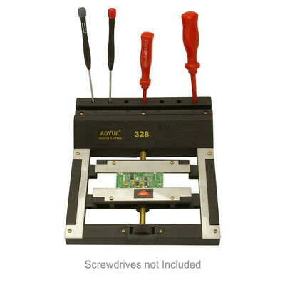 Aoyue 328 Working Platform with PCB Clamp + Tool Holder, Anti Static Material