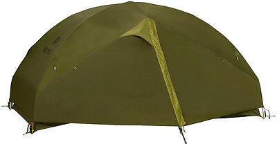 Marmot Vapor 2P Tent Green Shadow Moss 2 Man Geodesic Free Standing Ultralight