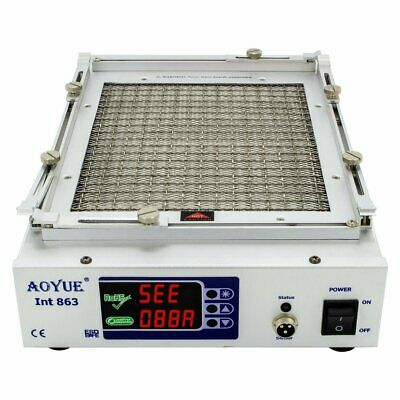 Aoyue 863 Infrared Preheater with Variable Temperature for reworking PCB's