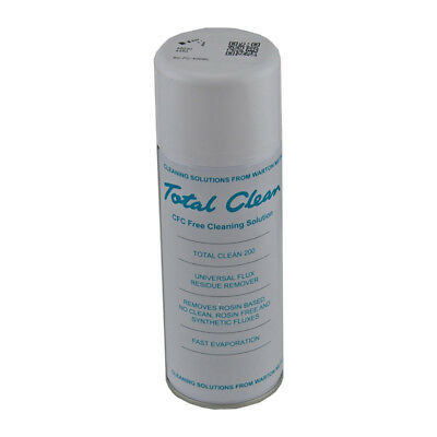 Aerosol PCB Cleaner 400ml CFC-free cleaning solution to remove flux residue