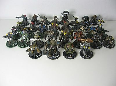 Mage Knight - Konvolut 36 Figuren Wizzkids 2000 bis 2003 - Roboter Unlimited
