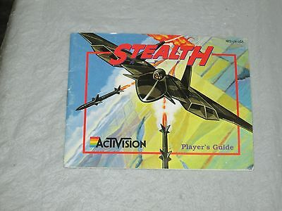 stealth (  nes) manual only good