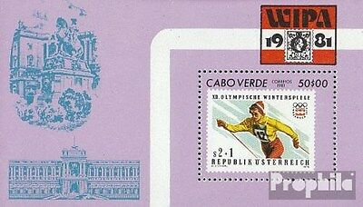 Cape Verde block3 (complete.issue.) unmounted mint / never hinged 1981 Stamp Exh