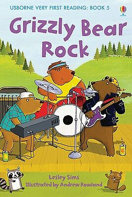 Grizzly Bear Rock (Usborne Very First Reading - Book 5) Hardback RRP:£4.99