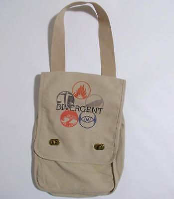Divergent Crossbody Messenger Bag Canvas Tote Five Factions On Flap